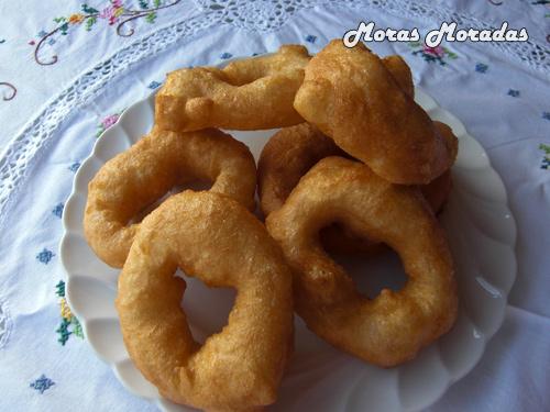 Buñuelos de Crema Receta Receta de Buñuelos de Viento
