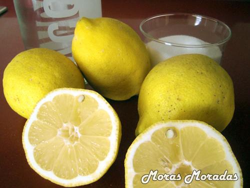 ingredientes para hacer limonada casera
