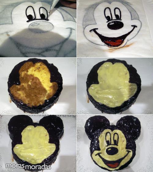 Tarta Mickey Mouse Moras Moradas