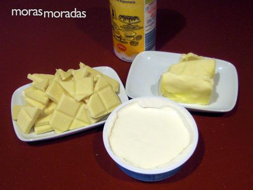 Baño Blanco De Azucar Receta:soperas de queso mascarpone 2 cucharadas soperas de azúcar glass