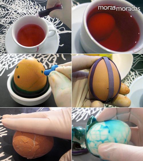 Cascaron de huevos de pascua decorados imagui for Como pintar huevos de pascua